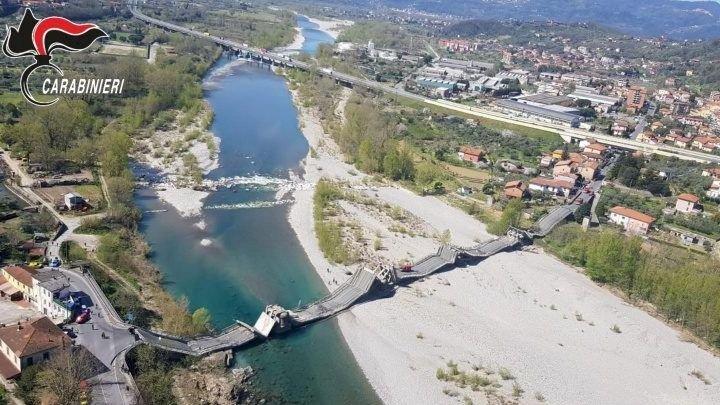 Toscana. Crollo del ponte di Albiano Magra, tempi lunghi e burocrazia