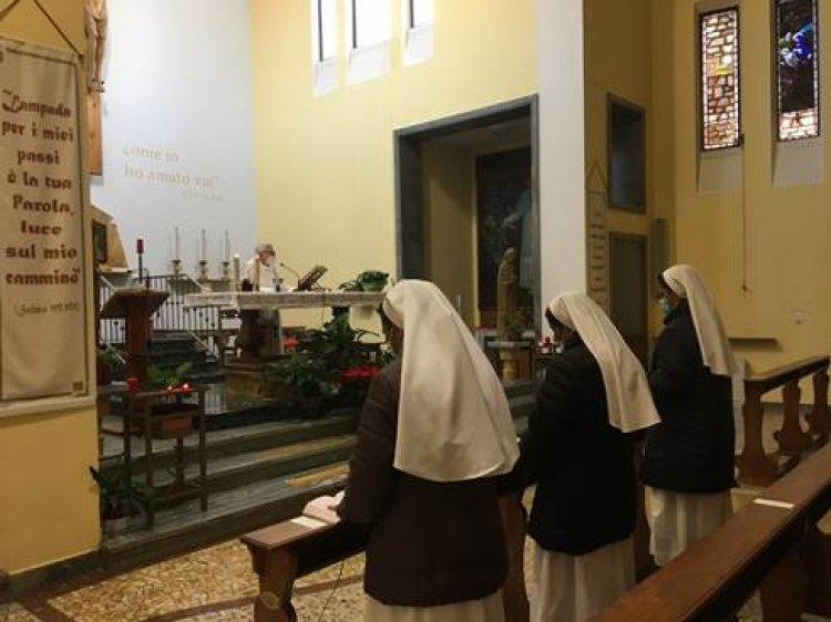 Fondazione Molina: tre religiose Serve di Maria Addolorata