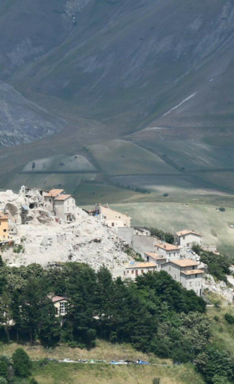 Le Marche e le tante vite sospese ancora oggi dai violenti terremoti del 2016