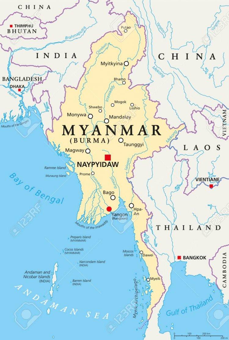 Myanmar, colpo di stato , mercenari e  strategia della tensione in Italia
