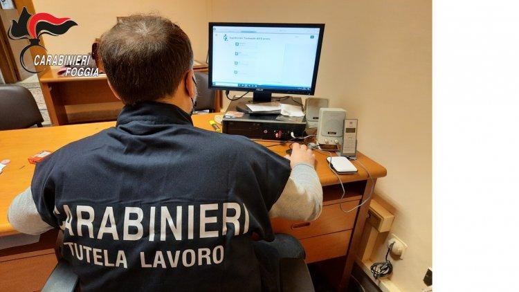 Foggia. Ispettorato arresta 50 beneficiari del reddito di cittadinanza