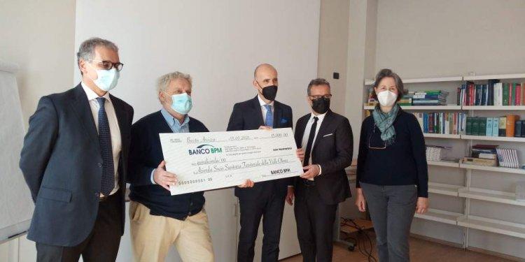Busto, raccolti 15 mila euro per Fondazione Tosi