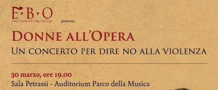 Donne all'Opera, il concerto per dire no alla violenza sulle donne