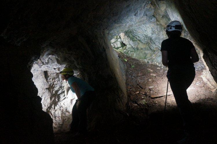 Nei luoghi della grande guerra con il gruppo speleologico alpino