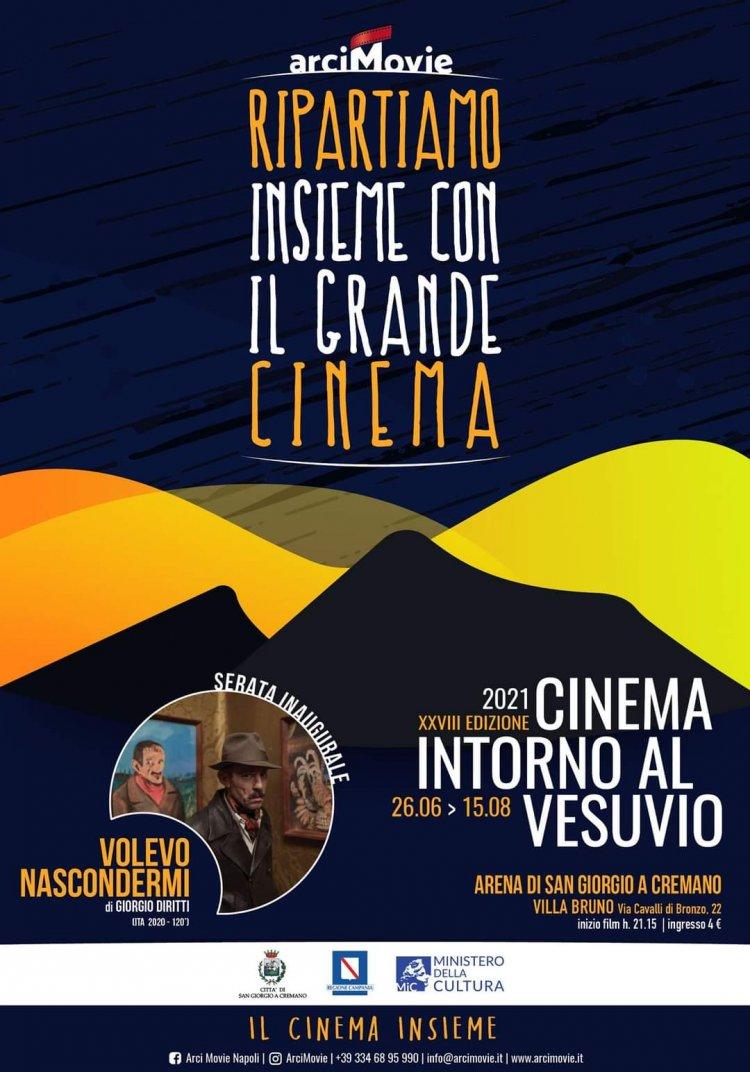 """Napoli: """"Cinema intorno al Vesuvio"""""""