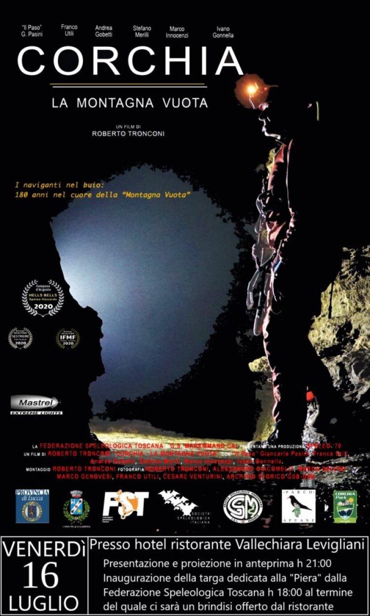 """Levignani (LU): film realizzato da Roberto Tronconi """"La Montagna Vuota""""."""
