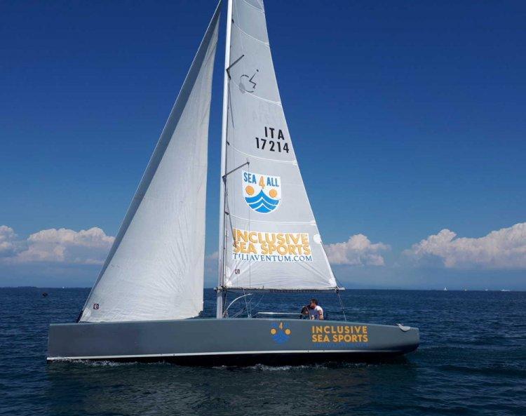 Legnano Sabbiadoro: tutti in barca a vela