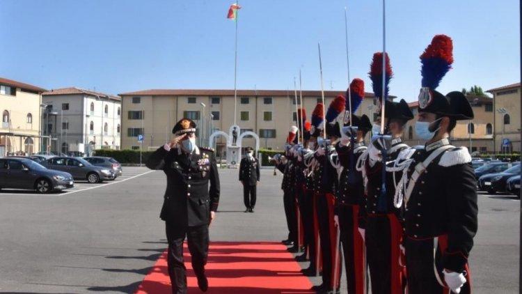 Carabinieri: il generale Teo Luzi in visita a Firenze