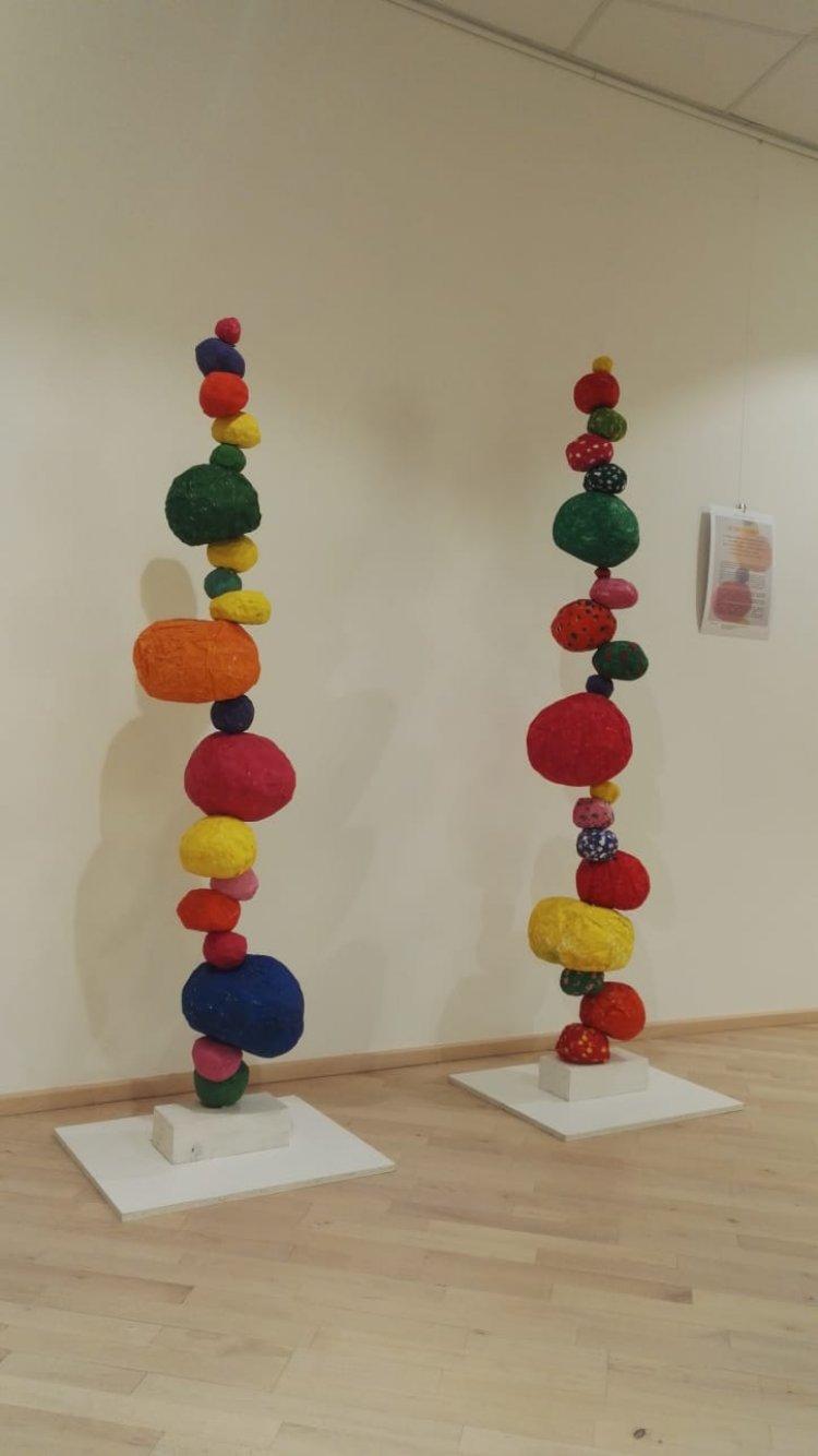 Verbania, Nido d'Arte, opere  esposte al Centro Eventi Il Maggiore