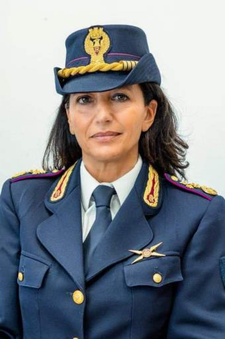 Reggio, Oliverio Alessandra, dirigente Reparto Volo di Reggio Calabria.