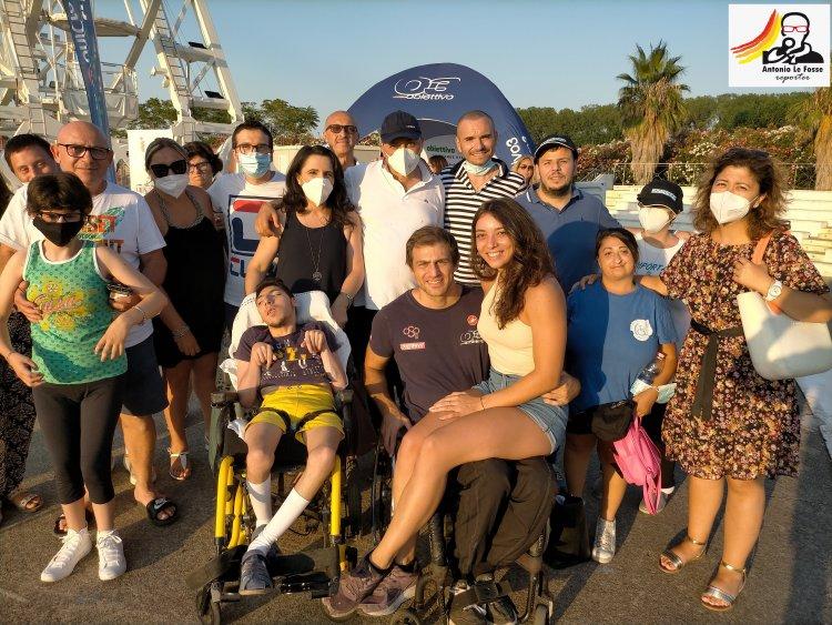 CORIGLIANO-ROSSANO (CS) : tappa degli atleti paralimpici