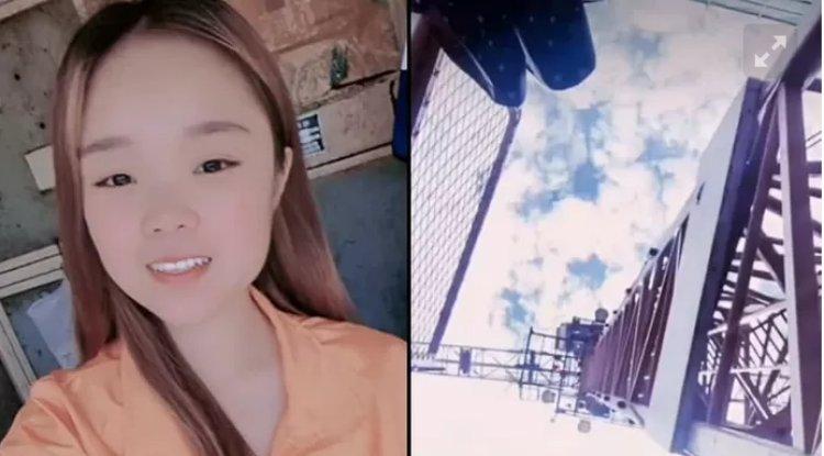 La star di TikTok muore in diretta facendo un selfie dopo una caduta da 43 metri