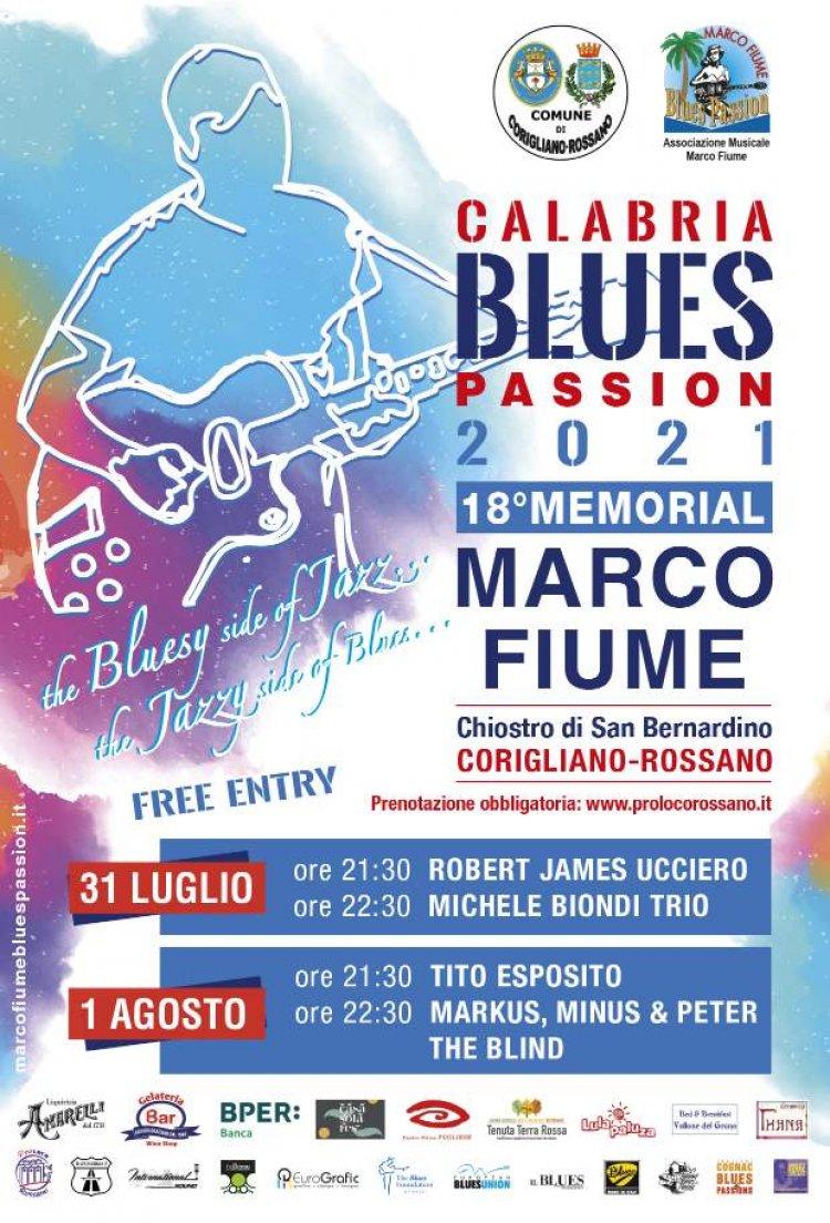 CORIGLIANO-ROSSANO (CS), Calabria Blues Passion - Memorial Marco Fiume
