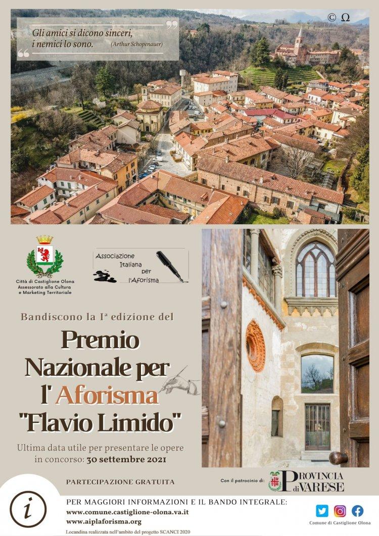 """Castiglione Olona,  Premio Nazionale per l'Aforisma """"Flavio Limido"""""""