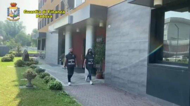 Padova, sequestrati 4 milioni dalla Guardia di Finanza