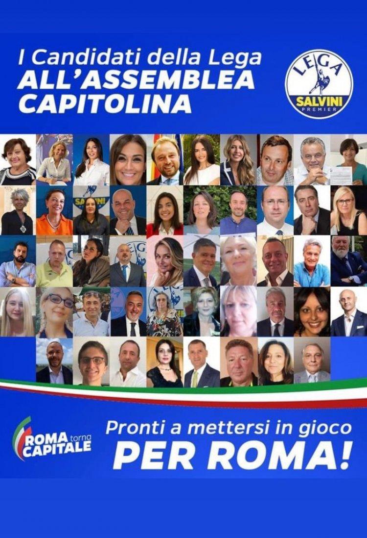 Candidati della Lega a Roma, tutti i nomi